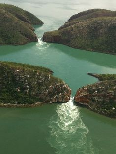 Horizontal waterfalls, Talbot Bay, the Kimberleys, Western Australia.