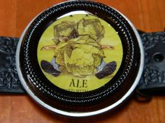 Bells Brewing Hopslam Belt Buckle handcrafted by the by BrewPaw, $28.99