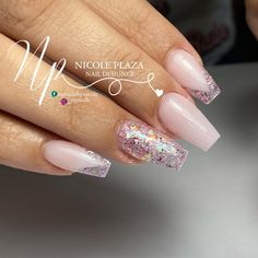 Nude Nails, Glitter Nails, Instagram Nails, Swag Nails, Beauty, Style, Beige Nail, Swag, Nail Swag