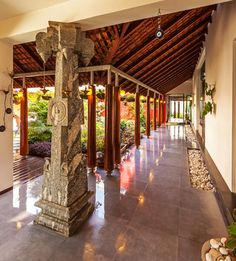 G Farmhouse - Tropical - Porch - other metro - by Kumar Moorthy & Associates