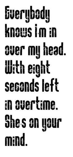 The Fray - Over My Head song lyrics, music lyrics