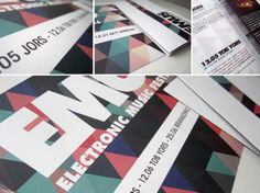 #graphicdesign #editorial #depliant #brochure #music #electromusic #electronic #electro #triangle #white #musicfestival #festival #emus #electronicmusicfestival #ilas #