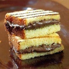 Nutella Pound Cake Panini. Ummmmmm YES.