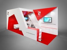 Colour render for Taleveras exhibition stand.