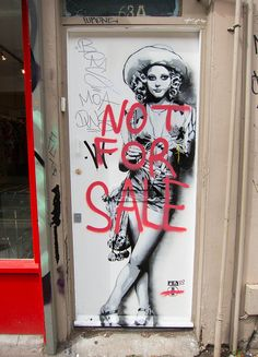 Not For Sale by Scott Beale, via Flickr
