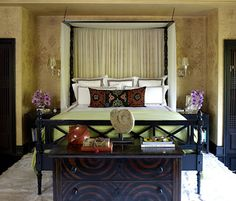 global chic bedroom by Martin Lawrence-Bullard