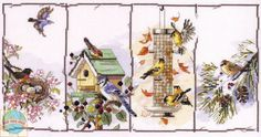 Janlynn - Four Seasons Birds - CrossStitchWorld