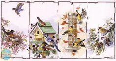 Janlynn - Four Seasons Birds - CrossStitchWorld