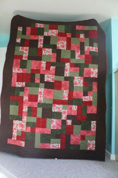This quilt is for sale on ebay until 7:50 PM EST 3-20-14.  All proceeds from the quilt will help to pay for our travel expenses to bring home our daughter from India.  Handmade Twin Size Quilt Featuring Fabric From India