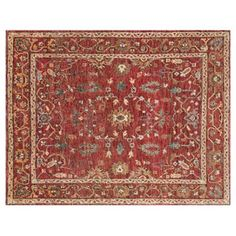 Check out this item at One Kings Lane! Nya Jute Rug, Red