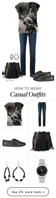 """""""Casual Wednesday Outfit"""" by alina-n on Polyvore featuring J Brand, Whistles, Topshop, CasualChic and fashionset"""
