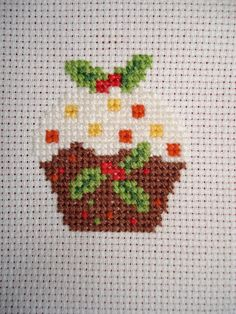cupcake cutie: Christmas cross stitch quickies!