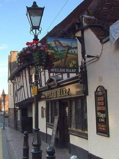 The Welsh Harp, Waltham Abbey, Essex Restaurant Signs, Pub Signs, Beer Signs, British Pub, Great British, Waltham Abbey, Best Pubs, England Uk, Harp