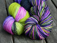 Cashmere Merino Hand Dyed Sock Yarn  115g by photuris on Etsy