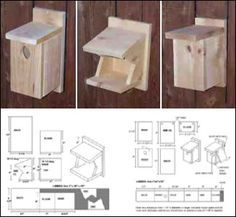 Make your own Barn Swallow house