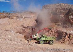 Mining for Boulder Opal in Outback Australia  by                                                  D.Rosenkranz Mining