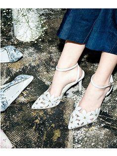 アンクルストラップフラワーパンプス(パンプス)|RANDA(ランダ)|ファッション通販 - ファッションウォーカー