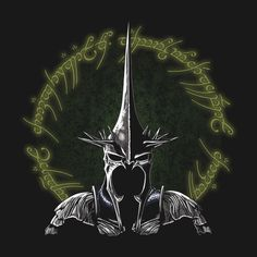 THE MORGUL LORD T-Shirt $12.99 Lord of the Rings tee at Pop Up Tee!