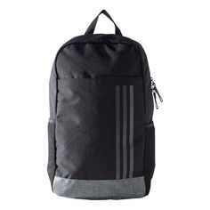 adidas Classic 3 Stripes Backpack Medium - Black, White