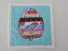 Easter Egg Quilt Block Tutorial - YouTube Make A Table, Hot Pads, Quilt Blocks, Table Runners, Easter Eggs, Crafty, Make It Yourself, Quilts, Cute