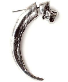 Single Claw Earring by Pamela Love