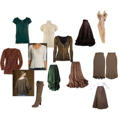 Autumny vintagey wardrobe wishes