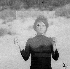 Valie Export - Glasplatte Mit Schuss - 1972