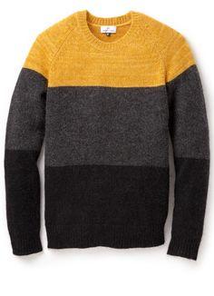 21fdf37c2 Hentsch Man - Orange Raglan Pullover for Men - Lyst