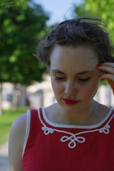 La Maison Victor Eden dress, sailor-style, with soutache | exclamation-point.de - sewing blog