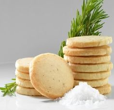 Salted rosemary shortbread. So freaking amazing.