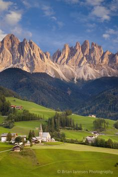 The Dolomites and Val di Funes, Trentino-Alto-Adige Italy. © Brian Jannsen Photography