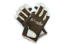 Leather Gardening Gloves for Women and Men Adjustable Velcro Fastener and Breathable Spandex Back Ideal for General Garden Tasks Medium * Check out this great product.