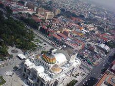 """""""Palacio de Bellas Artes desde el mirador de la Torre Latinoamericana"""", foto 8"""