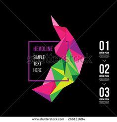 Vector abstract triangle design. Abstract banner colorful illustration. polygon. Background for banner, card, poster, identity, web design. Brochure design