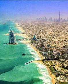 Incrível foto de Dubai!