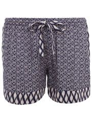 Essouaria Patch Print Sporty Shorts
