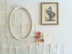 Bohemian Book Walls - SO COOL!!
