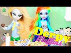 ▶ How to make Doll Food: Muffins | Plus Custom Equestria Monster Derpy Yelps - YouTube