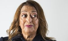 """The world is not a rectangle,"" says Zaha Hadid, inspiring architect."