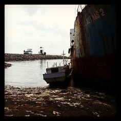 Old Shipyard Makassar, Indonesia