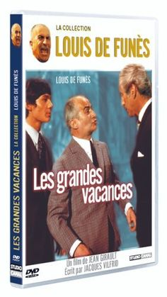 Les Grandes vacances DVD ~ Louis de Funès
