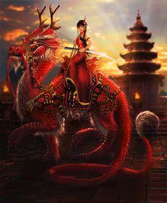 Imperial Dragon by LunarRoseFX on DeviantArt