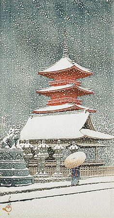 Art japonais - Hasui Kawase @@@@@........http://www.pinterest.com/pin/295900637990493700/