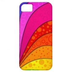 Abstract Rainbow Case-Mate iPhone 5 Case