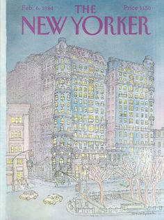 The New Yorker - Monday, February 6, 1984 - Issue # 3077 - Vol. 59 - N° 51 - Cover by : Iris Van Rynbach