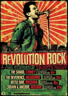 Revolution Rock to smash up the seats in 4 Australian cities in October
