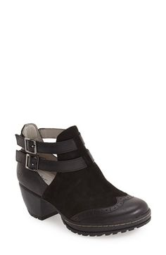 b3c65d54357 Free shipping and returns on Jambu  Brava  Strappy Wingtip Bootie (Women) at