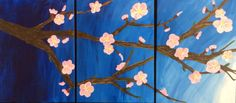 Cherry Blossoms by Gilkersonstudios on Etsy, $60.00