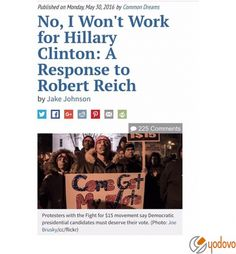 I don't know Robert Reich personally