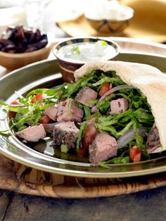 Leftovers Recipe: Lamb Pitas with Cucumber Mint Tzatziki
